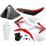 Kit Plastico Crf 230 2019 Protork Original Adaptável Xr 200