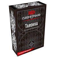 D&D: A Maldição de Strahd Tarokka Deck