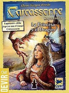 Carcassonne: A Princesa e o Dragão (2a edição) - Expansão