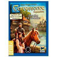 Carcassonne: Estalagens e Catedrais - Expansão (2ª edição)