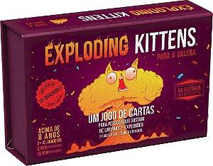 Exploding Kittens para Galera