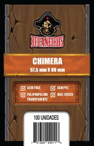 Sleeves Chimera (57,5mm x 89mm) - Bucaneiros