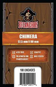 Sleeves Chimera (57,5mm x 89mm) - Bucaneiros
