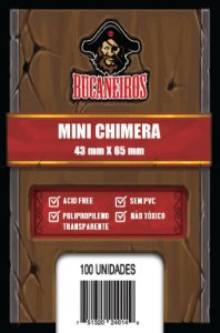 Sleeves Mini Chimera (43 mm x 65 mm) - Bucaneiros
