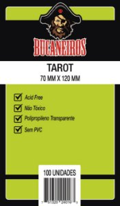 Sleeves Tarot (70 mm x 120 mm) - Bucaneiros