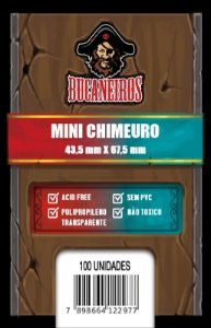 Sleeve Mini Chimeuro (43,5mm x 67,5mm) - FIve Tribes e Catan