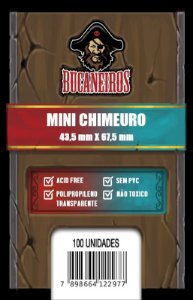 Sleeves Customizados Mini Chimeuro (43,5 mm x 67,5 mm) - Bucaneiros