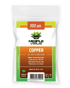 Sleeves Cooper (65 mm x 100 mm) - Meeple Virus