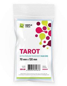 Sleeves Tarot Blue Core (70 mm x 120 mm) - Meeple Virus