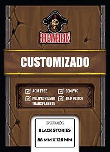 Sleeves Customizados para Black Stories (88 mm x 126 mm) - Bucaneiros