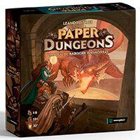 Paper Dungeons - Um Jogo de Rabiscar Masmorras