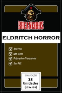 Sleeves Customizados Eldritch Horror / Arkham Horror (103mm x 128 mm) - Bucaneiros