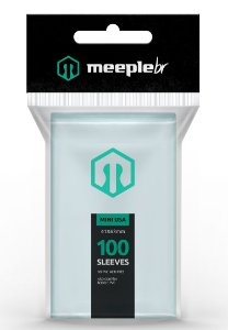 Sleeves Premium Mini USA (41 mm x 63 mm) - Meeple BR