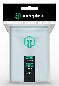 Sleeves Premium Padrão (63,5 mm x 88 mm)  - Meeple BR