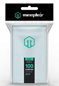 Sleeves Premium Padrão Euro  (59 mm x 92 mm) - Meeple BR