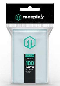 Sleeves Premium Mini Euro  (45mm x 68 mm) - Meeple BR