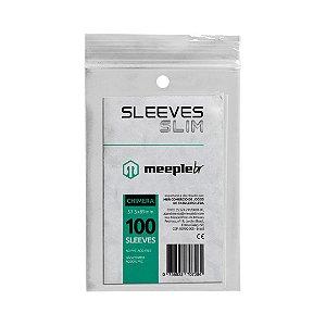 Sleeves Slim Chimera (57,5 mm x 89 mm) - Meeple BR