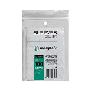 Sleeves Slim Padrão (63,5 mm x 88 mm) - Meeple BR