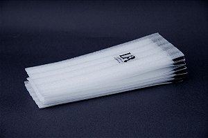 Papel com Velcro para Mechas Tam G - 36 unidades
