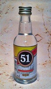 Cachaça 51 Miniatura de 50ml