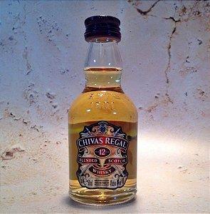 Whisky Chivas Regal Miniatura 50 ml