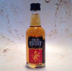 Whisky Old Eight Miniatura 50 ml