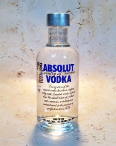 Vodka Absolut Natural 200 ml