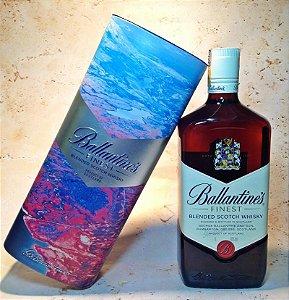 Whisky Ballantine's 1 litro Série Lata