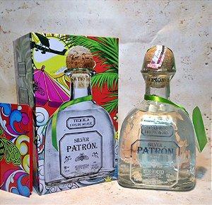 Tequila Patron Silver 750ml Edição Limitada na Lata