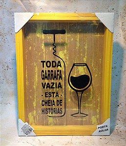Quadro Porta Rolhas de Vinho