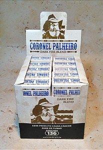 Caixa de Cigarro de Palha Coronel Palheiro Dark C/ 10 Maços