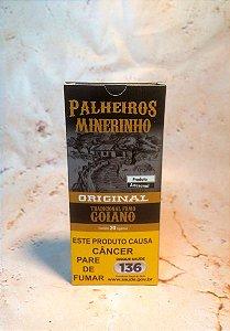 Cigarro de Palha Palheiros Mineirinho Original 20 Unidades