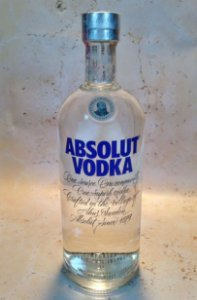 Vodka Absolut Natural 1 Litro