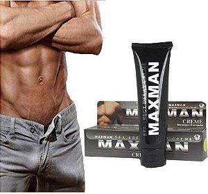 MaxMan creme Original funciona mesmo como Usar comprar Frente grátis?