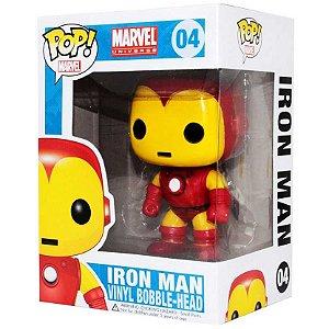 Boneco Funko Pop Homem De Ferro ( Iron Man) - 04