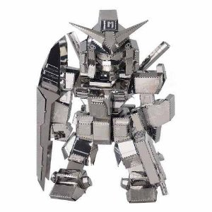Metal Earth Transformers Kit De Montar Em 3D Gundam Robô