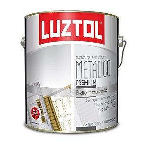 TINTAS ESMALTE METÁLICO LUZTOL 3,6 L