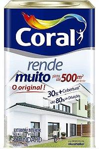 TINTA RENDE MUITO CORAL 18 L 3,6 L 900 ML