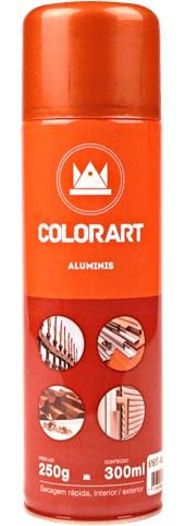 SPRAY ALUMINIS COLORART