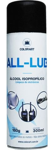 SPRAY ÁLCOOL ISOPROPÍLICO COLORART