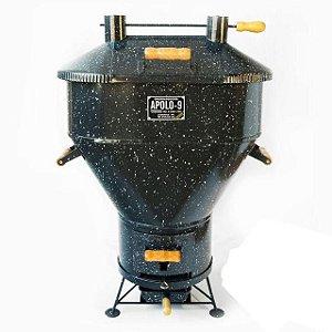 Churrasqueira a Bafo - Apolo 09 - Gás ou Carvão - Capacidade para 8 quilos de carne.