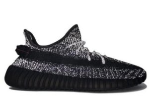 YEEZY BOOST 350 V2 - BLACK STATIC REFLETIVE