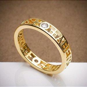 Aparador Abençoada por Deus - 3 Camadas de Ouro 18k