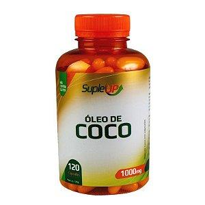 ÓLEO DE COCO EM CÁPSULA SUPLE UP 1000mg 120 CÁPSULAS