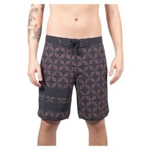 Bermuda Boardshort Hurley Black Party Phantom  Drum Circle