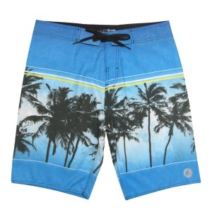 Bermuda Boardshort WSS Waves Tropical Blue 20