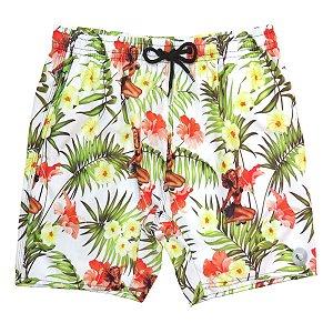 Shorts Praia Masculino WSS Waves Hawaiian 17