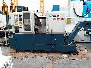 Torno CNC usado ROMI GL 280M