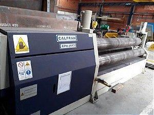 Calandra Hidraúlica para Chapas CALFRAN Usada CPH-2513