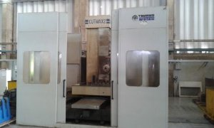 Mandrilhadora CNC WOTAN Usada  CUTMAX-2 TT